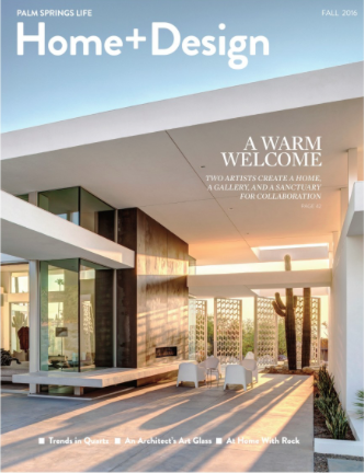 Mr. Mann's Design featured in Palm Springs Life Home + Design